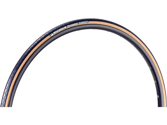 Michelin Dynamic Classic Cubierta de Bicicleta 20-622, black-transparent